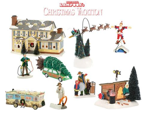 department 56 national loon s christmas vacation 9pc