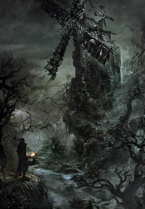 film fantasy giapponesi new screnshots and concept art released for bloodborne
