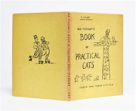 Possum S Book Of Practical Cats possum s book of practical cats t s eliot stearns edition