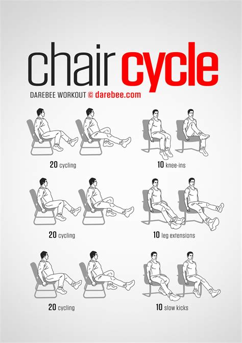 Exercise Office Chair - chair cycle workout