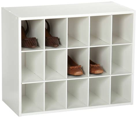 Rubbermaid Shoe Rack by Shoe Organizer Rack Closet Space Rubbermaid Shed