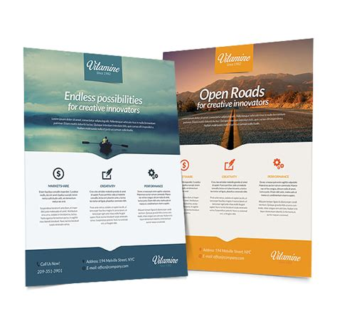 construction flyer templates free multipurpose business corporate flyer template psd on behance