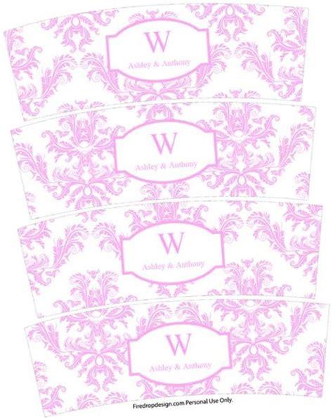 Party Simplicity Wedding Freebie Votive Candle Wraps Free Printables Party Simplicity Votive Candle Labels Templates