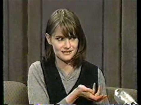 jennifer jason leigh interview jennifer jason leigh interview on the late show 1994
