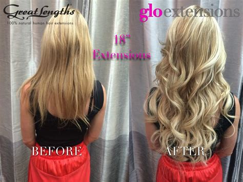 22 inch hair extensions before and after 18 hair extensions before and after
