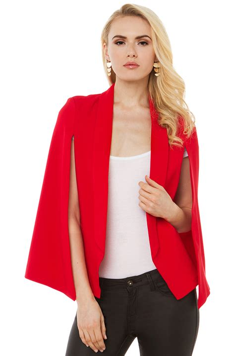 Latest Kitchen Accessories red cape blazer