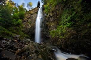 Glen Affric plodda falls glen affric destructive pixels