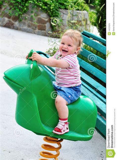swinging a baby swinging baby stock photo image 14727670