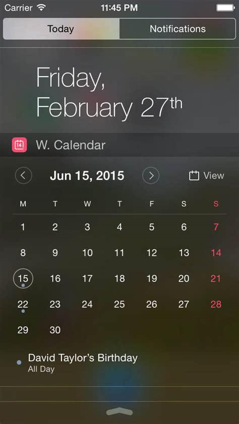 Best Calendar Widget Price Drops Best Iphone Apps On Sale This Weekend