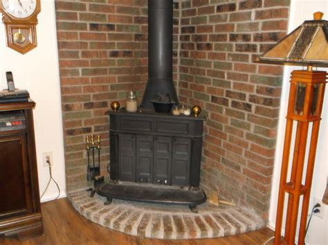 idea for wood furnace design ideas for refacing wood burning stove surround