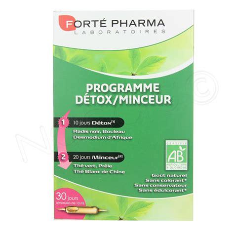 Detox Pharma by Fort Pharma Programme Dtox Minceur Bio 30 Oules Naocia