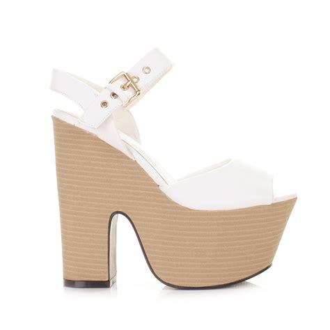 white wedge high heels white wedge heels