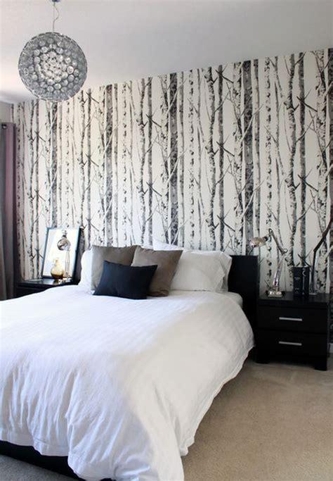 tree bedroom birch tree wallpaper in bedroom art pinterest