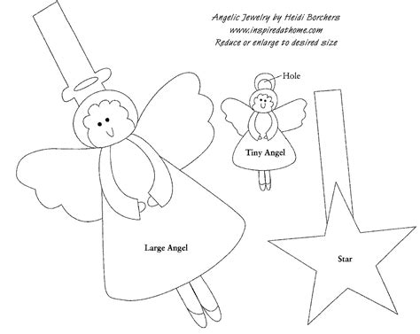 pattern for christmas angel christmas angel jewelry from inspired at home favecrafts com