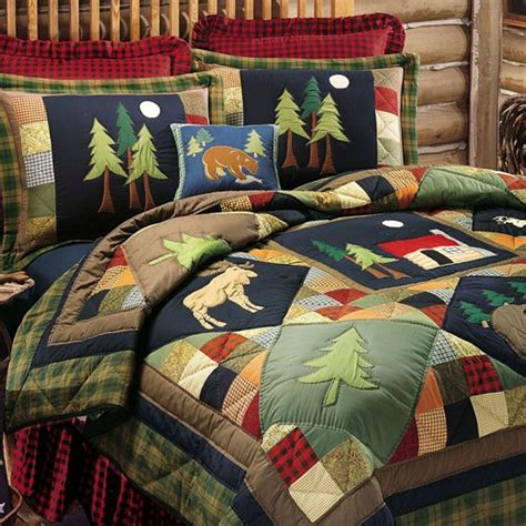 quilts for boy room cabin bedding boys room forest theme boy s room