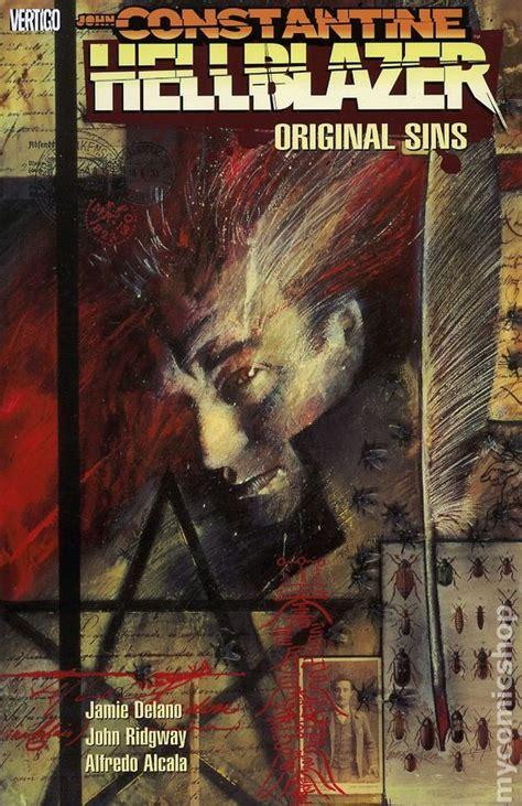 constantine hellblazer vol 1 original sins hellblazer original sins tpb 1992 dc vertigo