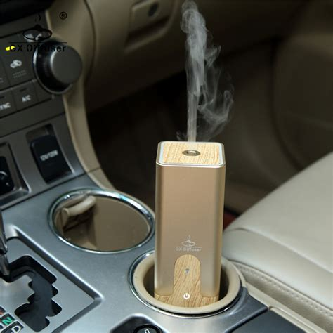 Gx B02 Ultrasonic Aroma Essential Diffuser Humidifier 50ml Black gx diffuser 2017 mini usb car 50ml aromatherapy essential