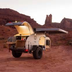 Rv Garage Designs off the grid rentals offers rugged teardrop trailers in