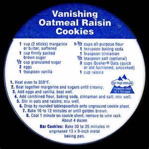 Cookies recipe oatmeal cookie recipe quaker lid recipes food blog