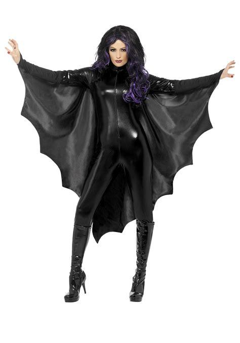 Costume Hallowen Black 1 black bat wings