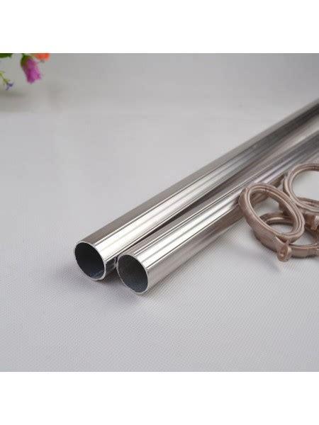 1 inch diameter curtain rods qyt2521 1 1 8 quot diameter custom double curtain rods metal