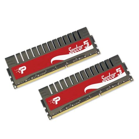 Memory Psp patriot sector 5 g series 8 gb 2x4 gb ddr3 pc3 10666 1333 mhz 9 9 9 24 dual channel pgv38g1333elk