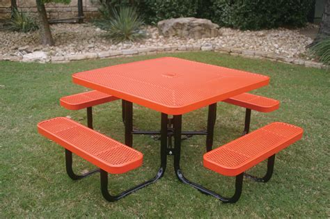 Portable Picnic Table by Square Portable Picnic Table Mytcoatmytcoat