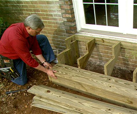 how to build a house all the steps in sections build wooden exterior steps