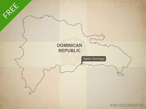 printable map dominican republic free vector map of dominican republic one stop map