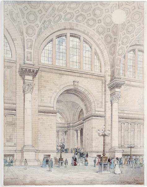 Floor Plan Companies by Mckim Mead Amp White S Glorious Old Penn Station Turns 103