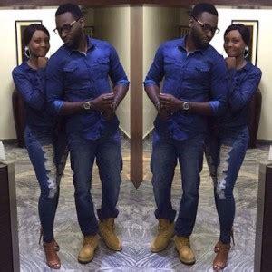 Nira Dress Wheat newly wedded gbenro ajibade and osas ighodaro shine