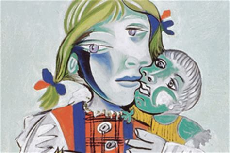picasso paintings with doll with doll