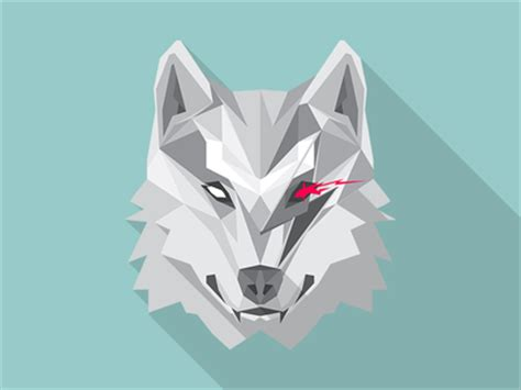 bowiewolf by angel a acevedo dribbble
