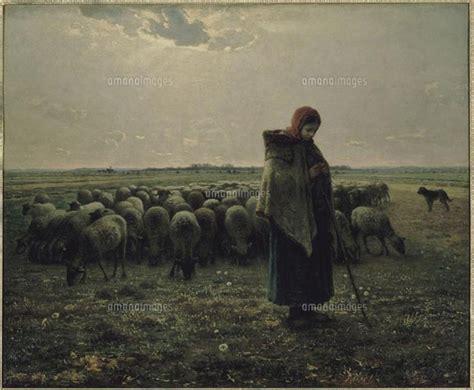 angelus paint netherlands 羊飼いの少女 26004016757 写真素材 ストックフォト 画像 イラスト素材 アマナイメージズ