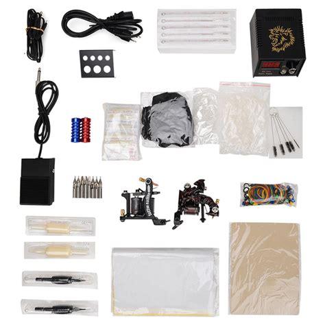 tattoo needle kits cheap professional tattoo gift kit 2 pro tattoo machine gun