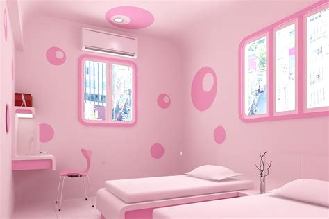 Decoration Ideas For Small Bedrooms chic pink bedroom design ideas for fashionable girl
