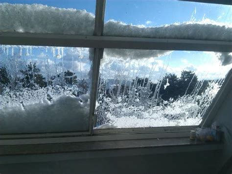 snow on windows picture of hotel omorika tara national