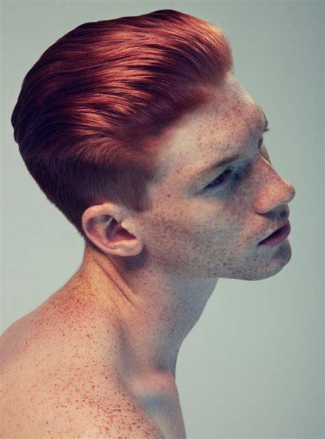 black men haircuts red dye redhead men s fades and short back sides pinterest