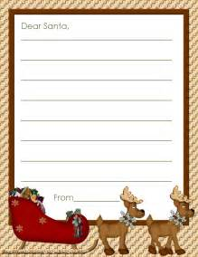 Writing A Letter To Santa Template Search Results For Free Christmas Letter Border Templates