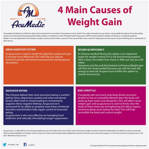 Can Detox Cause Weight Gain by 4 Causes Of Weight Gain And How Acupuncture Can