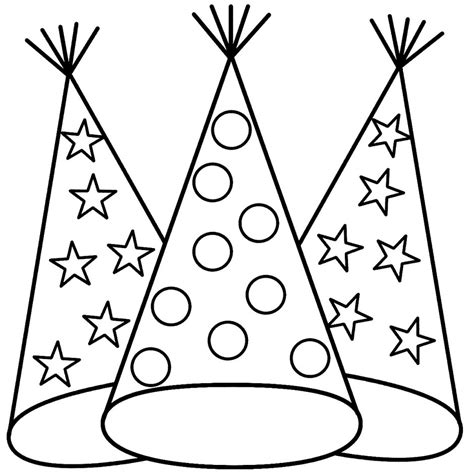 new year hat coloring pages new year 2015 coloring pages page 2 search results