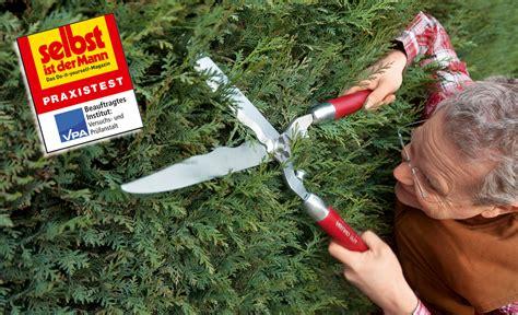 gardena heckenschere test test mechanische heckenschere gartentechnik selbst de