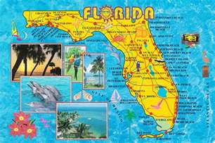 florida attractions map large detailed tourist map of florida state vidiani