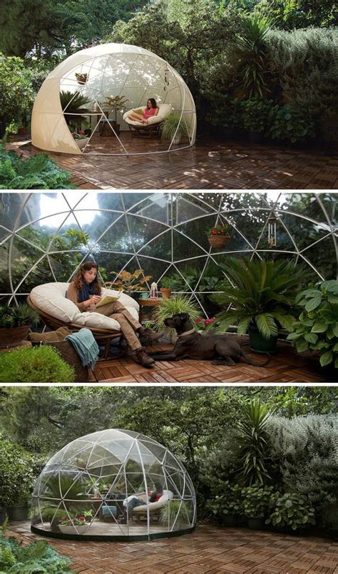 how to make an igloo in your backyard cozy room backyards and gardens on pinterest