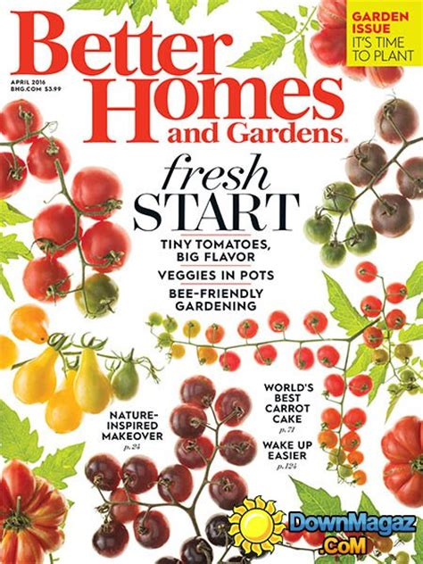 house and garden magazine usa better homes and gardens usa april 2016 187 download pdf