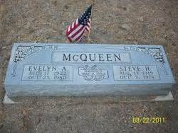 Chester holland quot steve quot mcqueen 1919 1976 find a grave memorial