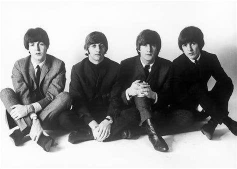 The Beatles Black 1 in black and white the beatles notice the unnoticeable