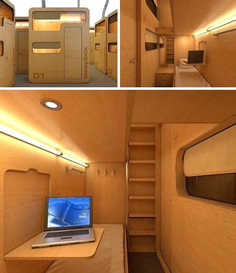 bed pod sleep box modular office pod business travel bedroom