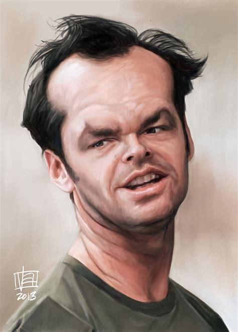 jack nicholson imagenes caricatura de jack nicholson