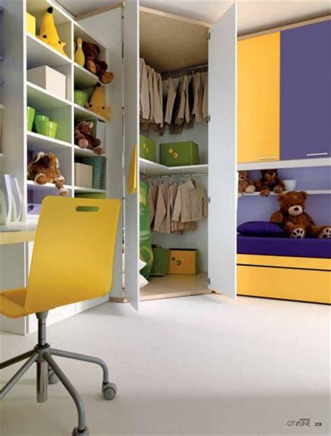 camerette per bambini con cabina armadio cameretta a ponte per bambini con cabina armadio angolare